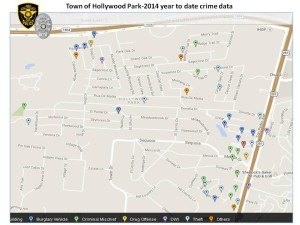 crime map June 2014