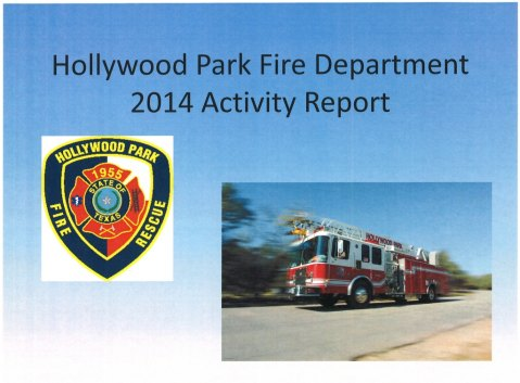 HPFD 2014 Activity Report Cover